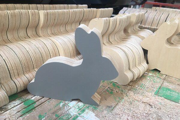Laminated 18mm Birch plywood rabbit
