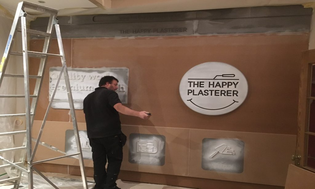 GoDaddy Happy plasterer fitting