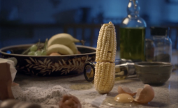 Eat them to defeat them evil sweetcorn