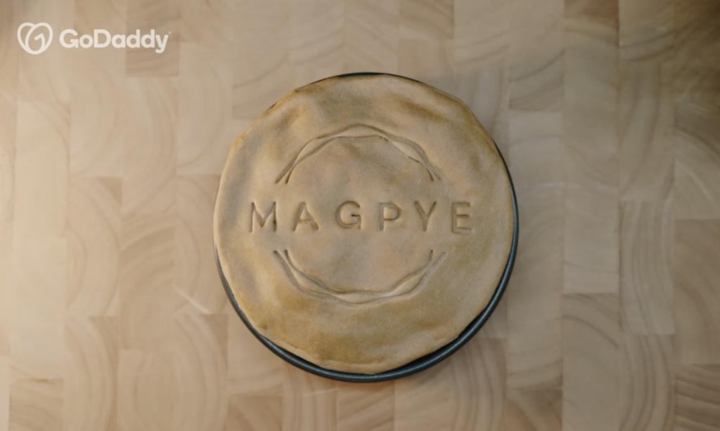 Magpye pie prop logo